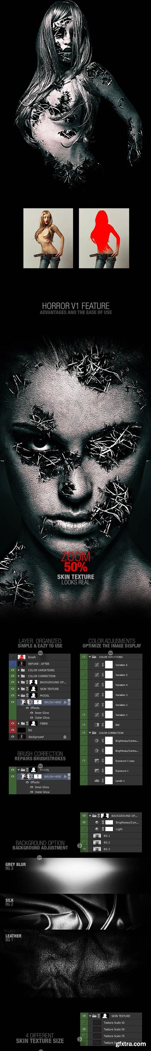 GraphicRiver - Horror v1 Photoshop Action - 15794491
