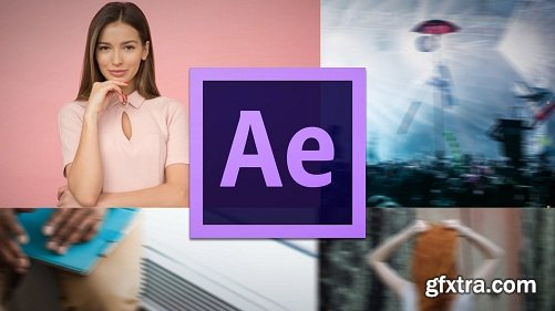 Grid Transition in After Effects - A Photo Gallery Animation Series Vol. 1