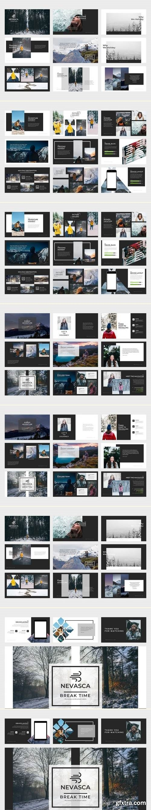 Nevasca Google Slides Template