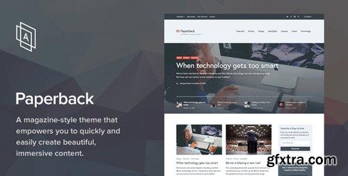 ThemeForest - Paperback v1.8.0 - Magazine WordPress Theme - 13511026