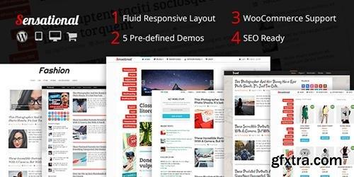MyThemeShop - Sensational v3.1.3 - Fully Responsive & SEO optimized Magazine WP Theme