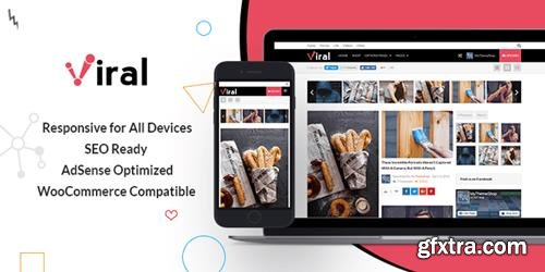 MyThemeShop - Viral v1.0.9 - WordPress Theme For Social Media Marketers