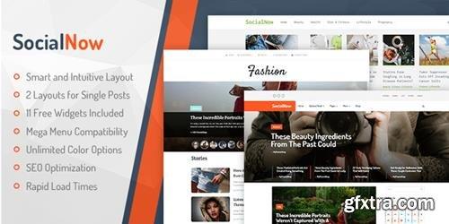 MyThemeShop - SocialNow v1.1.4 - Beautiful & Modern Magazine WordPress Theme