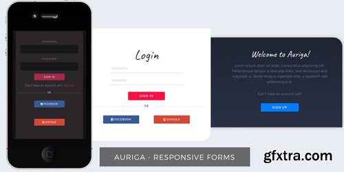 CodeSter - Auriga - Bootstrap HTML Forms - 7204