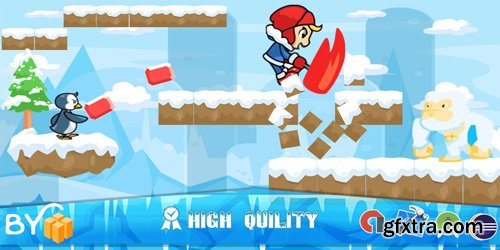 CodeSter - Ice Climber game - Template buildbox - 7332