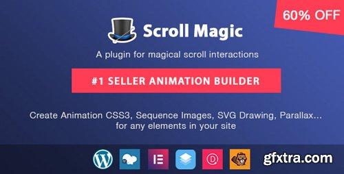 CodeCanyon - Scroll Magic Wordpress v3.3.1.2 - Scrolling Animation Builder Plugin - 19418234