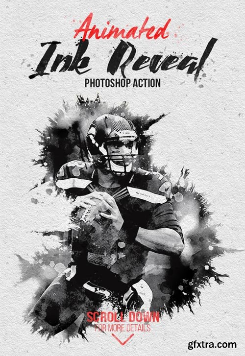 GraphicRiver - Animated Ink Reveal Photoshop Action - 22113981