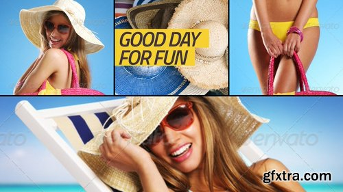 Videohive Slideshow clean colors 8981350