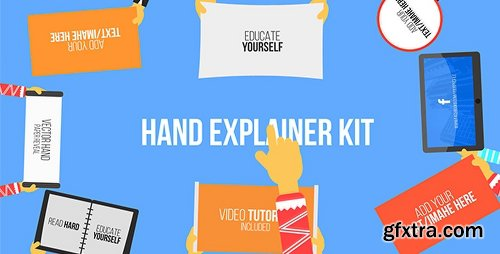 Videohive Hand Explainer Kit 19572128