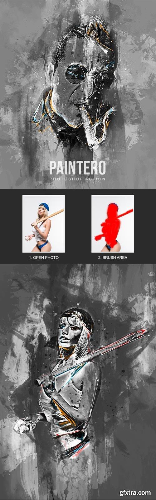 GraphicRiver - Paintero - Photoshop Action - 22196660