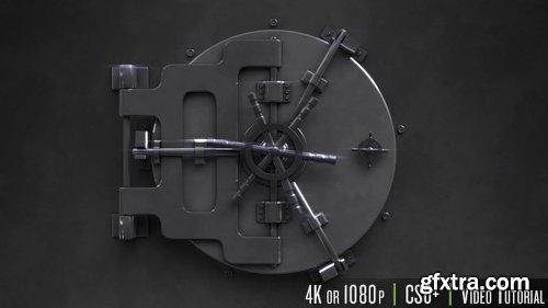 Videohive Safe Unlock Logo Reveal 19694325
