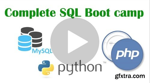 Complete SQL Bootcamp with MySQL, PHP & Python 2018