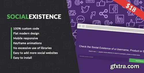 CodeCanyon - Social Existence v1.0 (Update: 4 December 17) - 21020091