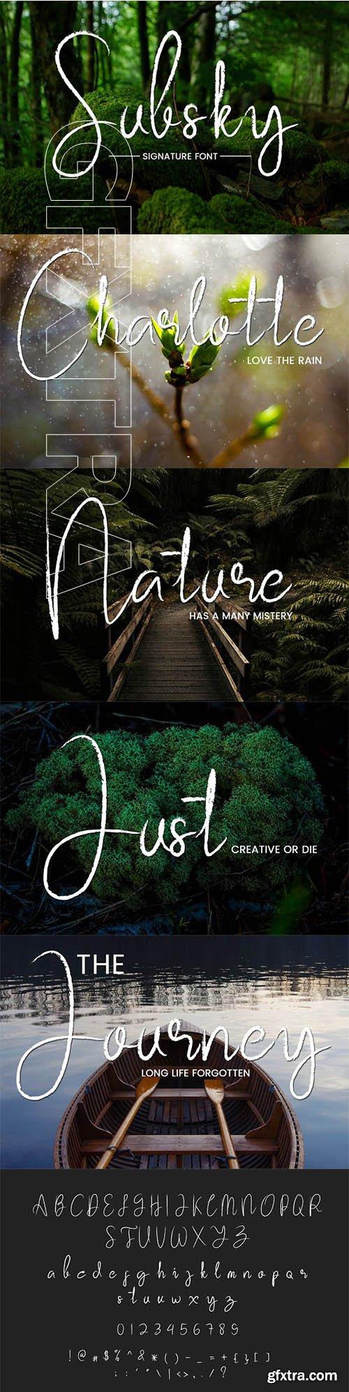 CreativeMarket - Subsky 2684728