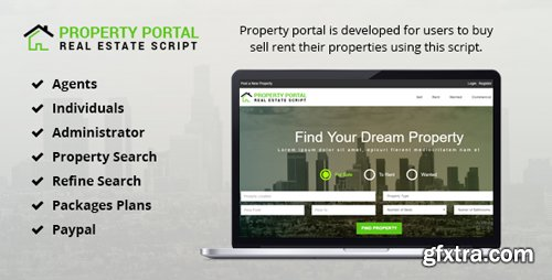 CodeCanyon - Property Portal v1.0 - 18679022
