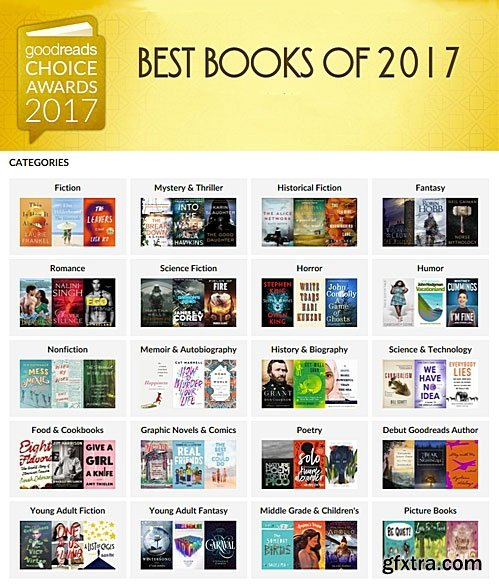 Goodreads: Best Books of the Year - 2017