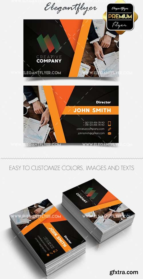 Creative Company V7 2018 Premium Business Card