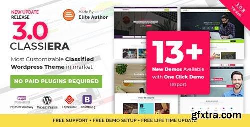 ThemeForest - Classiera v3.0.8 - Classified Ads WordPress Theme - 14138208