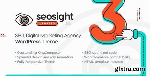 ThemeForest - Seosight v3.1.2 - SEO, Digital Marketing Agency WP Theme with Shop - 19245326
