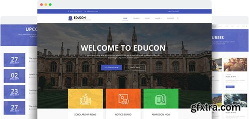 JoomShaper - Educon v2.6 - Modern Joomla Template for University, College & School