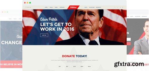 JoomShaper - Politist v1.8 - Responsive Joomla Template for Politicians/Election Campaigns
