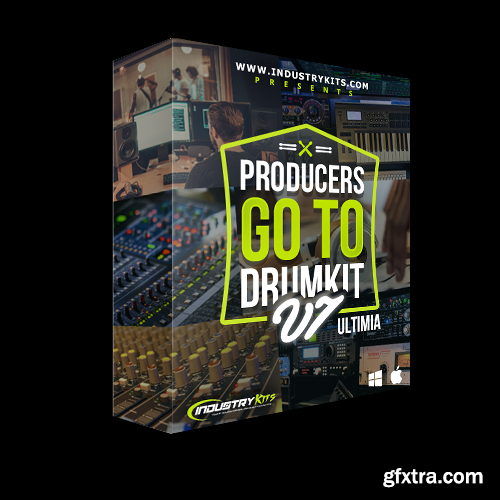 IndustryKits Producers GoTo DrumKit v7 ULTIMIA WAV MiDi