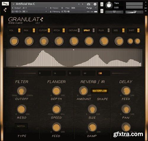 Rigid Audio Granulat v1.1 KONTAKT