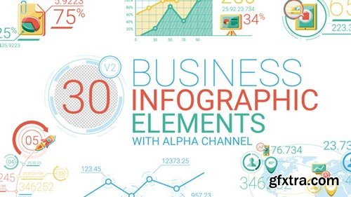 Videohive - Business Infographic Elements - 17164606