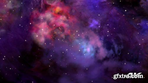 Videohive - Flying Through Outer Space - 21436328