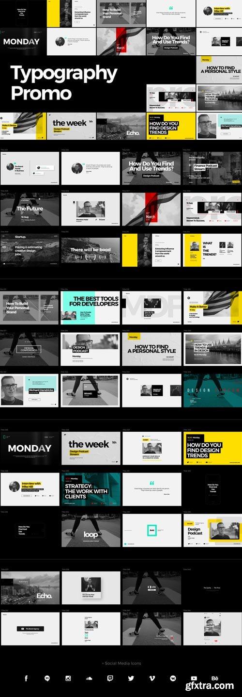 Videohive - Typography Promo - 22114107