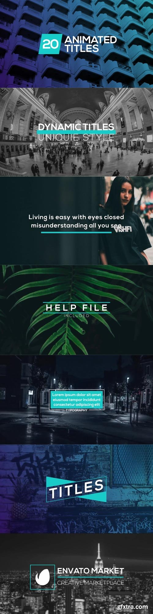 Videohive - Minimal Dynamic Typography - 22133131