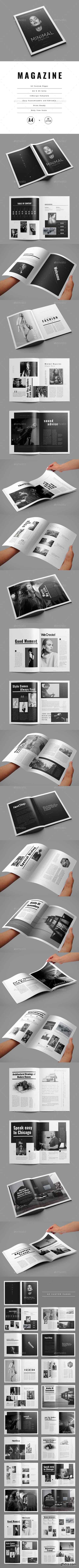 GraphicRiver - Minimal Magazine 22150495
