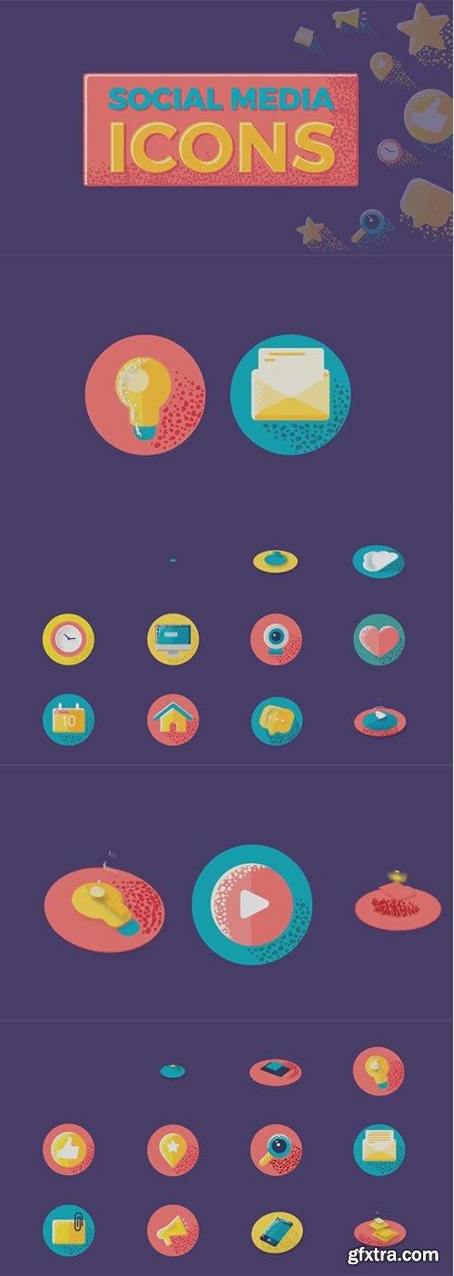 Pond5 - Social Media Icons - 077525461