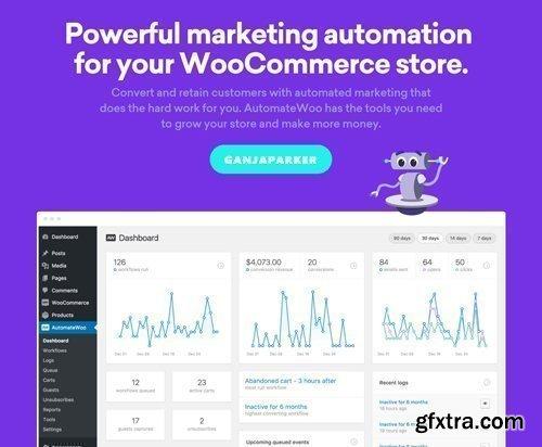 AutomateWoo v4.2 - Marketing Automation For WooCommerce Store - NULLED