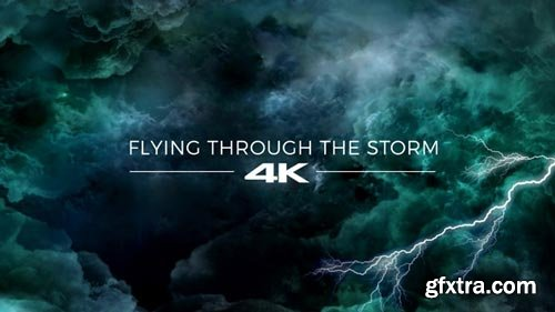 Videohive - Flying Through The Storm - 19667709