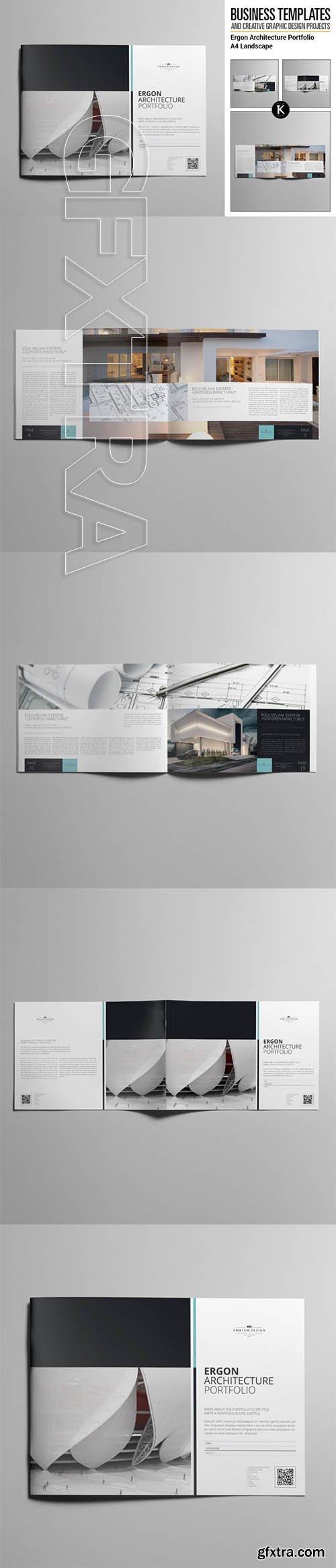 keboto - Ergon Architecture Portfolio A4 Landscape