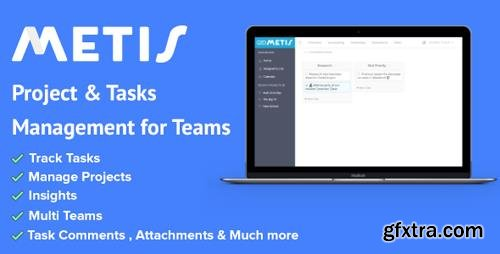 CodeCanyon - Metis v1.1.2 - Team Collaboration and Project Management Platform - 20463751
