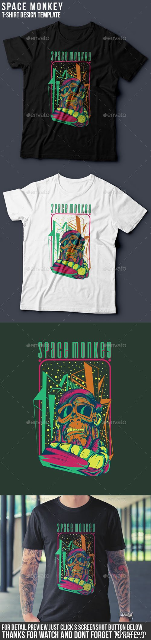 GraphicRiver - Space Monkey 8854688