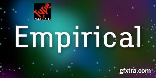 Empirical Font Family - 12 Fonts