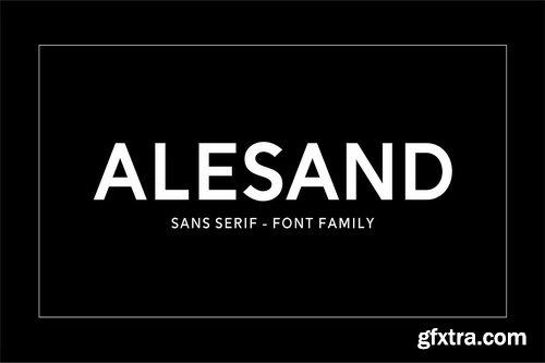 CM - Alesand (7 Fonts) - 2623302
