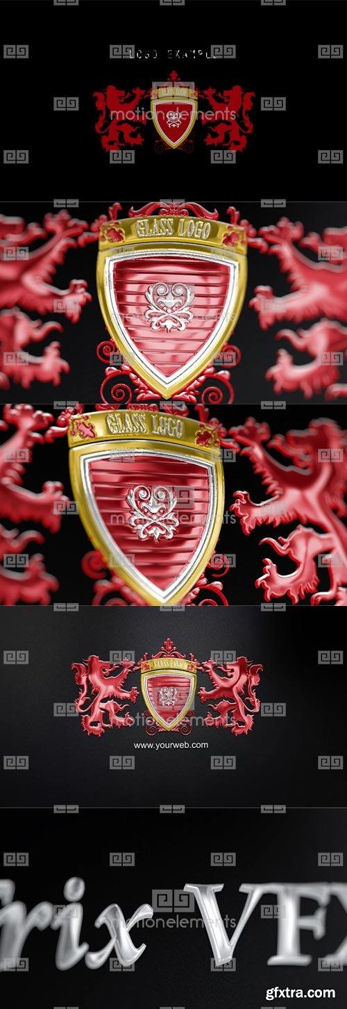 MotionElements - Glass Metal Reflect Logo - 10585187