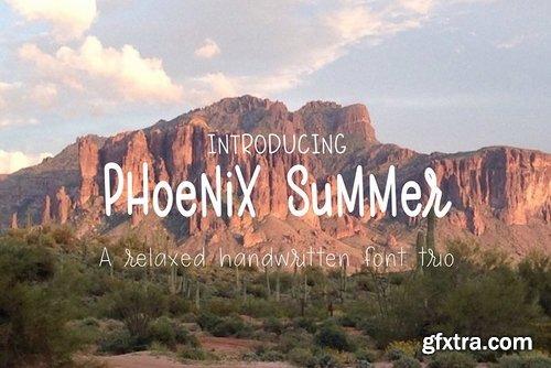 CM - Phoenix Summer font Trio 2534566