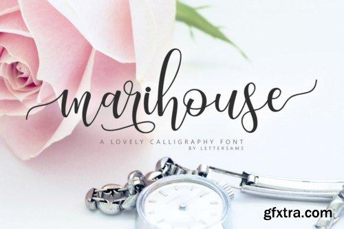 Marihouse Script Font