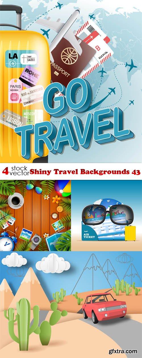 Vectors - Shiny Travel Backgrounds 43