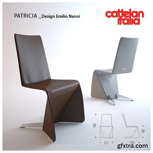 Cattelan Italia / PATRICIA 3d Model