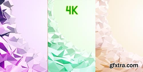 Videohive - Low Poly Background Opener - 19933164