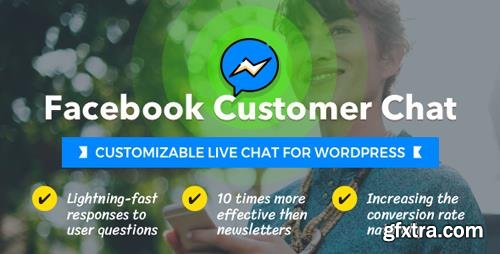 CodeCanyon - Facebook Customer Chat v1.1.1 - Customizable Live Chat for WordPress - 21221081