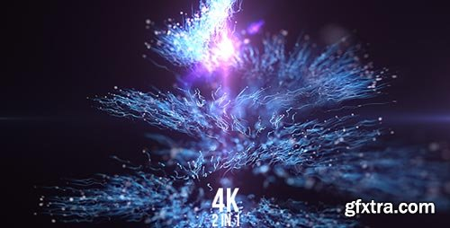 Videohive - Spiral Particles - 21462067