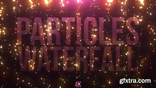 Videohive - Particles Waterfall - 21702483