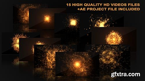 Videohive - Hot Explosions - 13987514